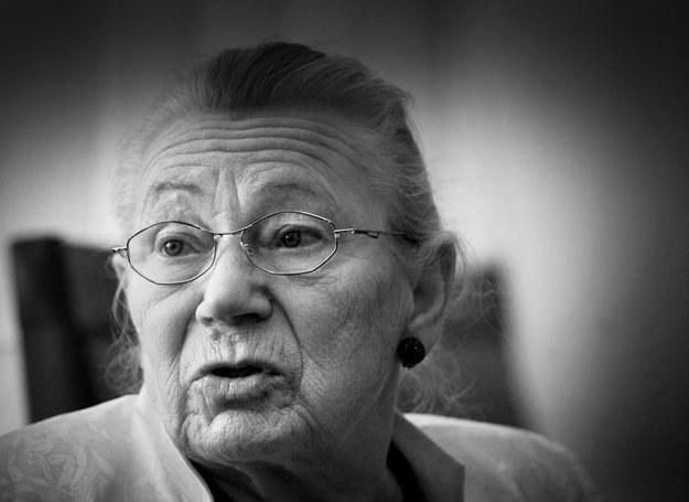 Anna  Walentynowicz, fot. Wojciech Barczyński /Agencja FORUM