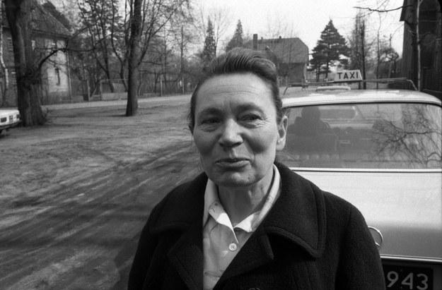 Anna Walentynowicz opuszcza Zakład Karny w Lublińcu /Wojtek Laski /East News