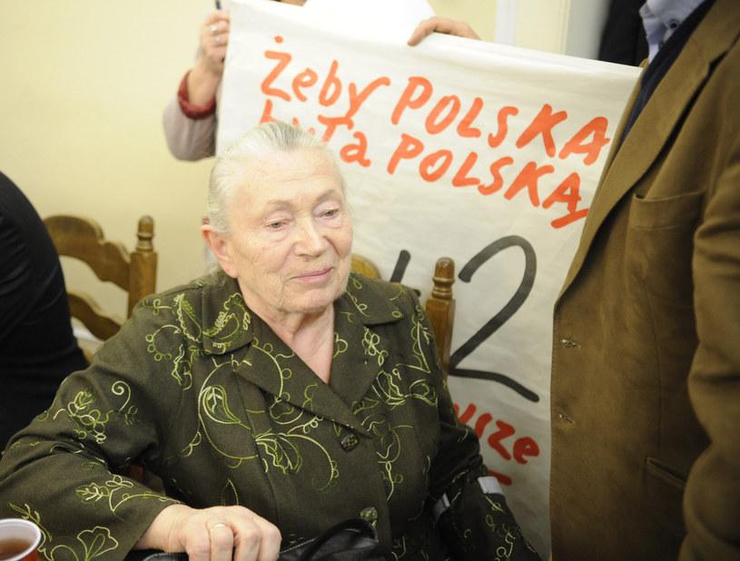 Anna Walentynowicz /MICHAL ROZBICKI /East News