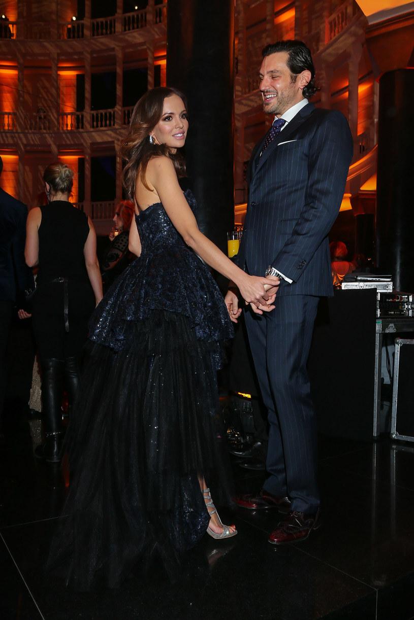 Anna Wendzikowska i Jan Bazyl /Kamil Piklikiewicz /East News