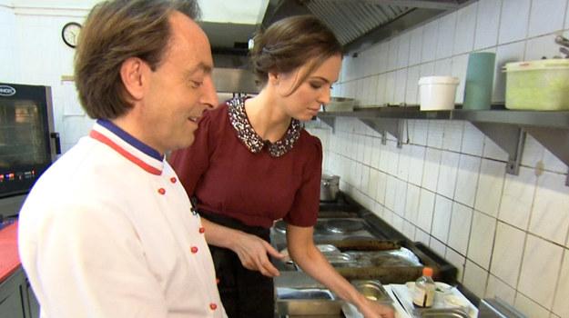 Anna Wendzikowska odwiedziła restaurację Bistro de Paris /  /TVN