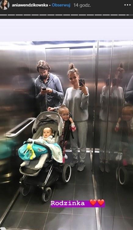 Anna Wendzikowska pochwaliła się rodzinnym zdjęciem na Instagramie /Instagram /Instagram