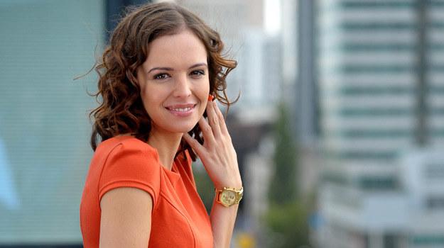 """Anna Wendzikowska w """"M jak miłość"""" /Agencja W. Impact"""