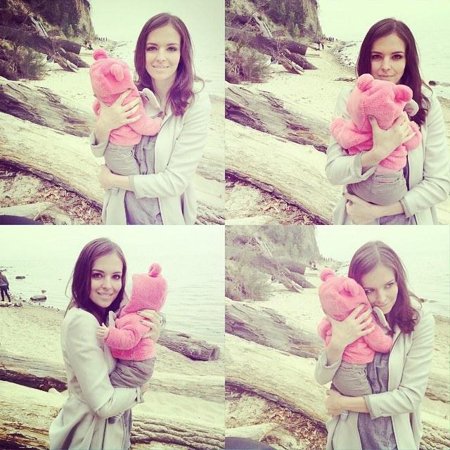 Anna Wendzikowska z córką Kornelią. /Instagram /internet