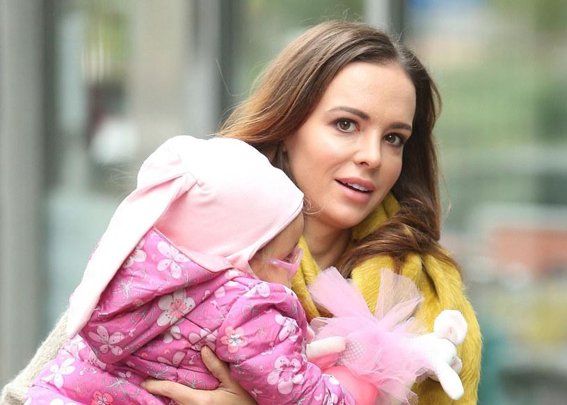 Anna Wendzikowska z córką Kornelią /East News