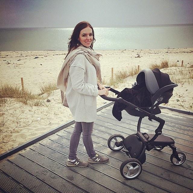 Anna Wendzikowska z córką. /Instagram /internet