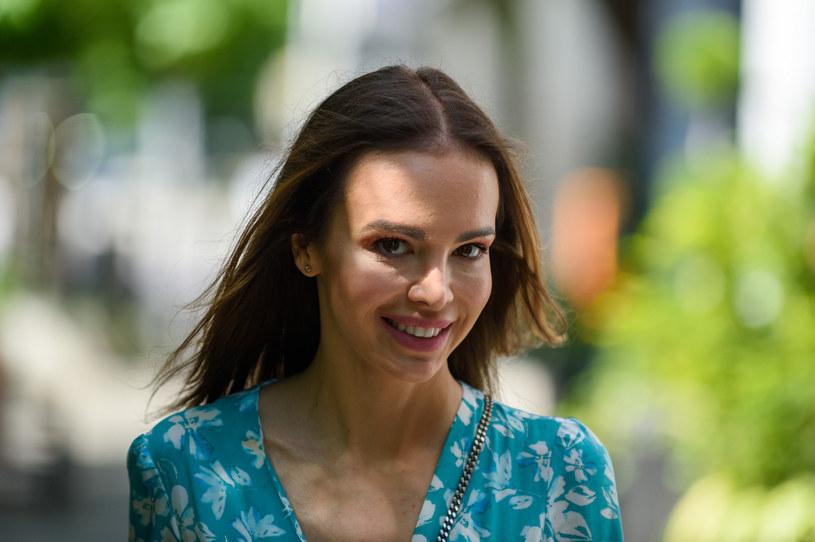 Anna Wendzikowska zadała szyku /Artur Zawadzki/REPORTER /Reporter