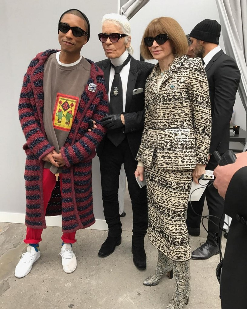 Anna Wintour i Karl Lagerfeld /East News