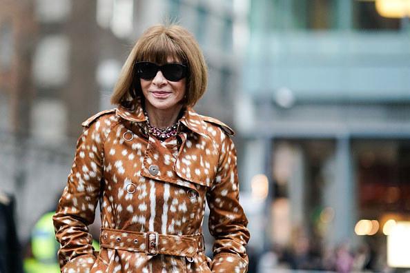Anna Wintour. Londyński Tydzień Mody /Getty Images