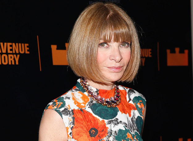 Anna Wintour /Getty Images