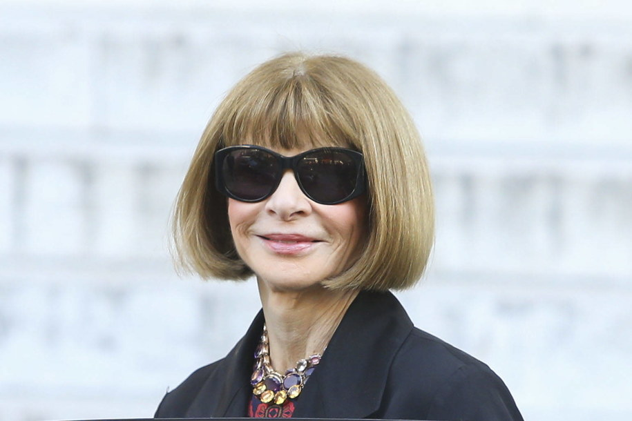 Anna Wintour /PAP/Panoramic/Gwendoline Le Goff /PAP/EPA