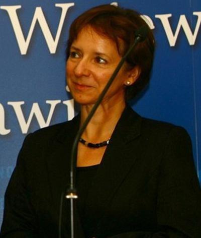 Anna-Wypych-Namiotko, wiceminister transportu. Fot. Sławomir Bernas /East News