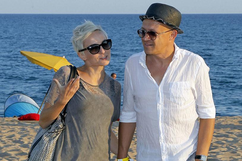 Anna Wyszkoni i Maciej Durczak, fot. Andrzej Engelbrecht /AKPA