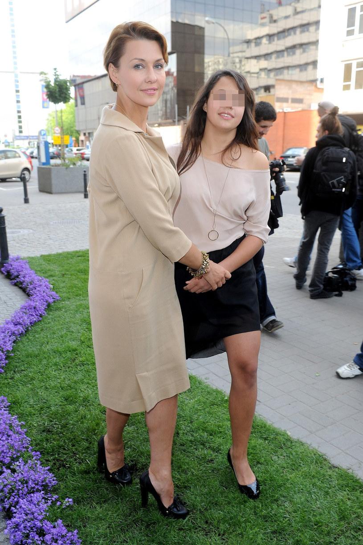 Anna z córką /- /East News
