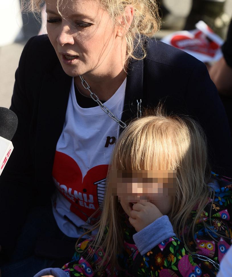 Anna z córką /Jaroslaw Antoniak /MWMedia