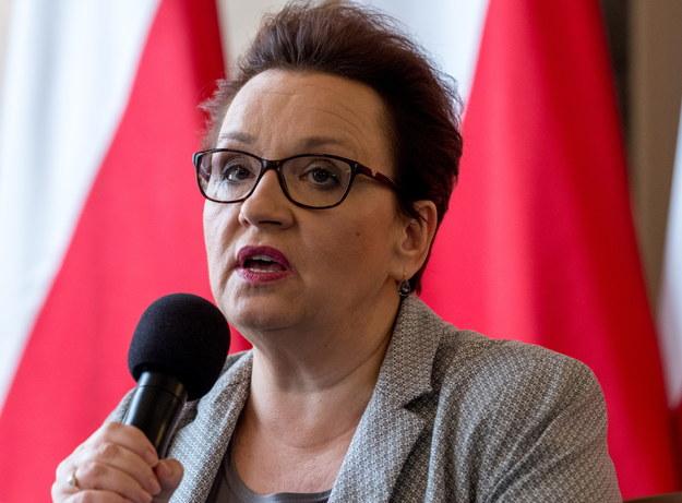 Anna Zalewska /fot. Andrzej Grygiel /PAP