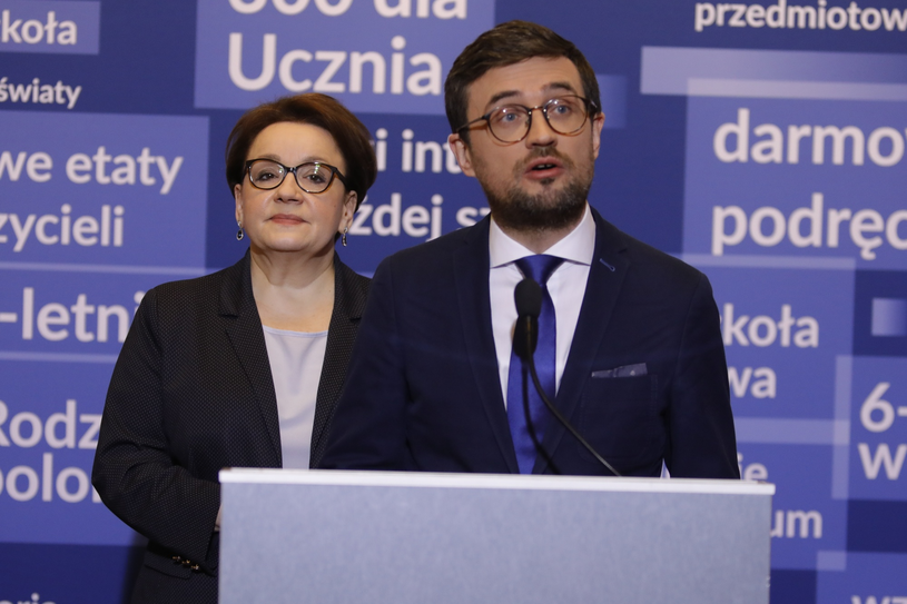 Anna Zalewska i Marcin Smolik /Grzegorz Banaszak /Reporter