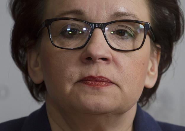 Anna Zalewska, minister edukacji. Fot. Michał Walczak /AGENCJA GAZETA