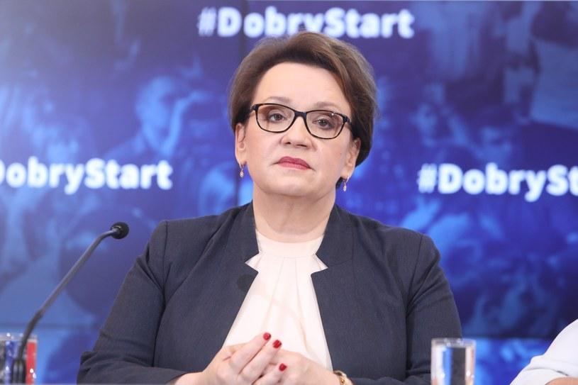 Anna Zalewska, minister edukacji narodowej /Stanisław Kowalczuk /East News