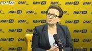 Anna Zalewska o podwyżkach dla nauczycieli: Kwota bazowa znacznie wyższa