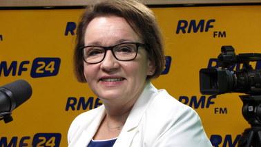 Anna Zalewska o reformie edukacji: Ustawa - 16 września. Nauczyciele gimnazjów nie muszą się martwić