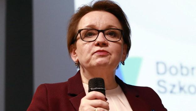 """Anna Zalewska spotkała się z Nauczycielami Roku. """"Jest wiele punktów wspólnych"""""""