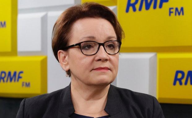 Anna Zalewska: Wszystkie obawy wobec reformy edukacji były niepotrzebne