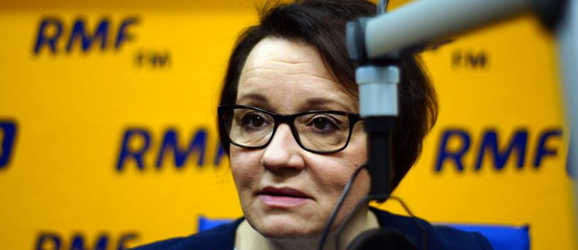 Anna Zalewska /RMF FM