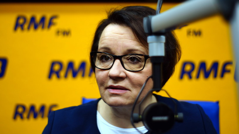 Anna Zalewska /RMF24.pl