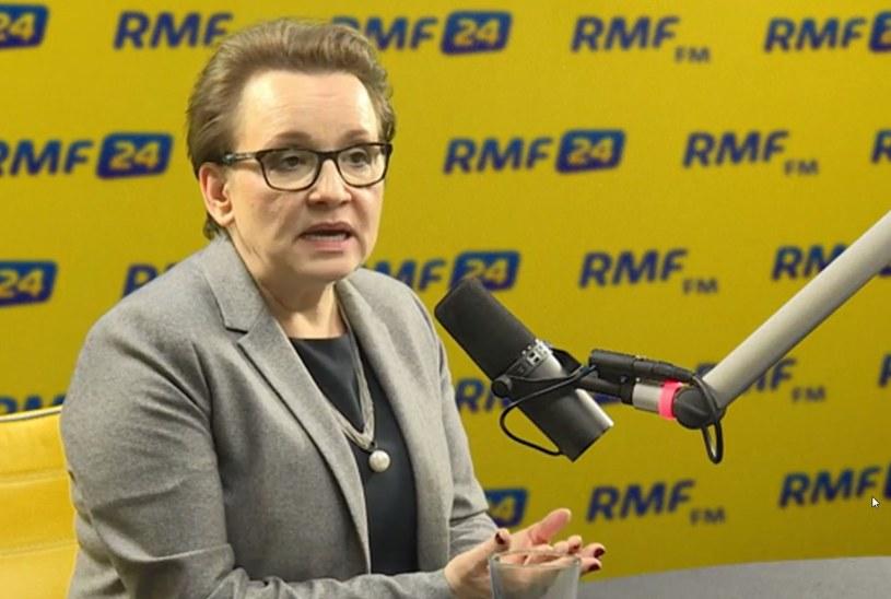 Anna Zalewska /RMF