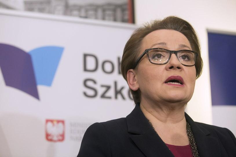 Anna Zalewska /Grzegorz Michałowski /PAP