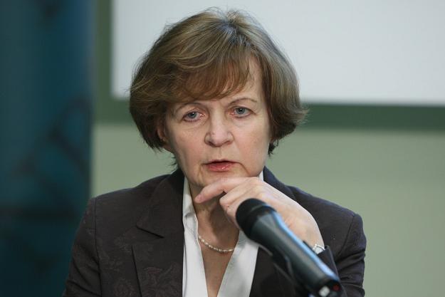 Anna Zielińska-Głębocka z RPP. Fot. Stanisław Kowalczuk /Agencja SE/East News