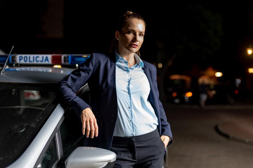 """Annę Dereszowską będzie można oglądać w serialu """"Komisarz Mama"""" - w marcu w Polsacie /Polsat"""