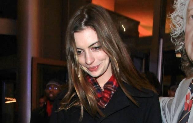 Anne Hathaway  /Splashnews
