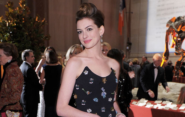Anne Hathaway, fot. Michael Loccisano   /Getty Images/Flash Press Media