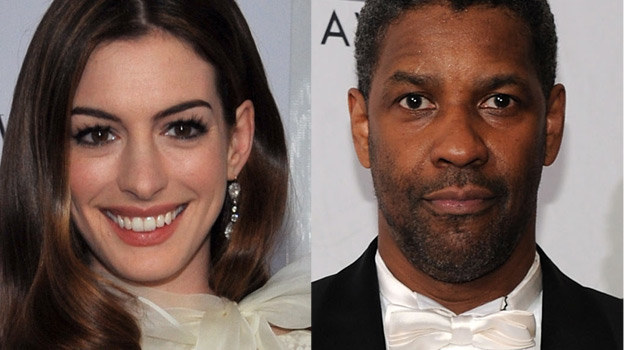 Anne Hathaway i Denzel Washington poprowadzą koncert z okazji wręczenia Pokojowej Nagrody Nobla /Getty Images/Flash Press Media