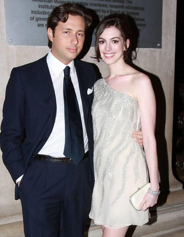 Anne Hathaway i Rafaello Follieri, fot. Will Ragozzino  /Getty Images/Flash Press Media