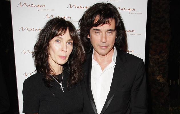 Anne Parillaud i Jean-Michel Jarre, fot.Gareth Cattermole  /Getty Images/Flash Press Media