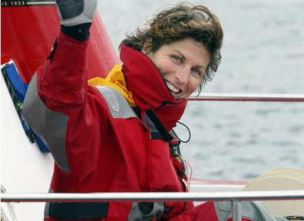 Anne Quemere zamierza pokonać Pacyfik. /AFP
