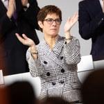 Annegret Kramp-Karrenbauer nową szefową CDU. Zastąpiła Angelę Merkel