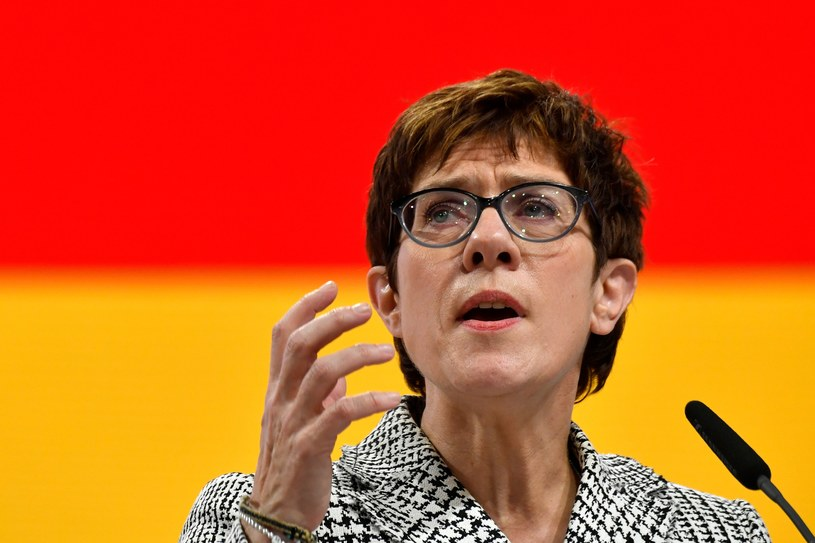 Annegret Kramp-Karrenbauer /AFP
