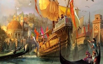 Anno 1404: Wenecja - fragment okładki z gry /INTERIA.PL