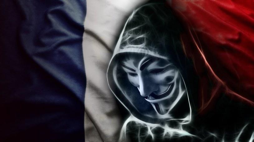 Anonimowi zapowiadają odwet za Niceę /materiały prasowe