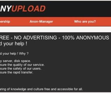 Anonymous zakładają Anonyupload?