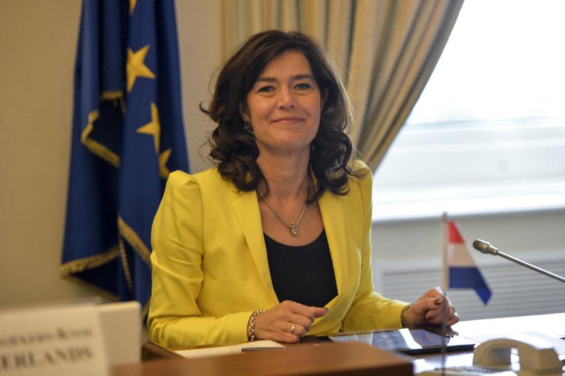 Anouchka van Miltenburg, przewodnicząca holenderskiej Izby Reprezentantów /AFP