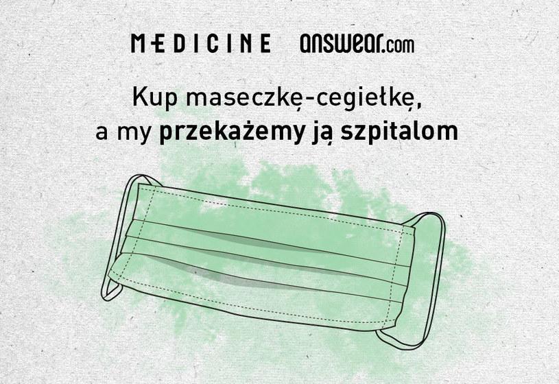 ANSWEAR.com i MEDICINE Everyday Therapy pomagają szpitalom /materiały prasowe