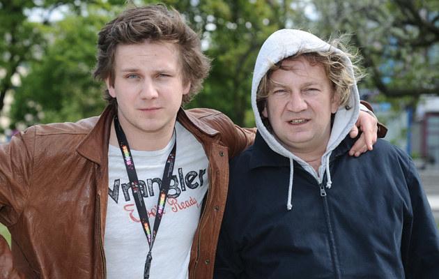 Antek z ojcem, Pawłem Królikowskim, fot.Andras Szilagyi  /MWMedia