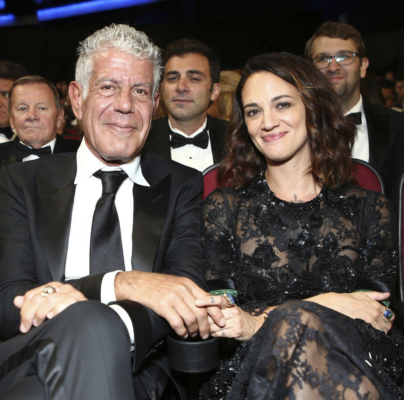 Anthony Bourdain i Asia Argento /East News