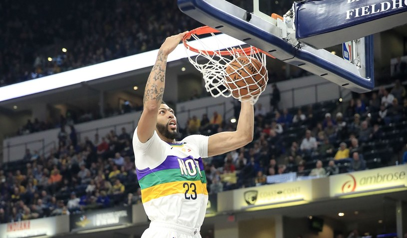 Anthony Davis z New Orleans Pelicans /AFP