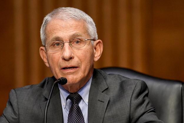 Anthony Fauci jest głównym doradcą Białego Domu /GREG NASH / POOL /PAP/EPA